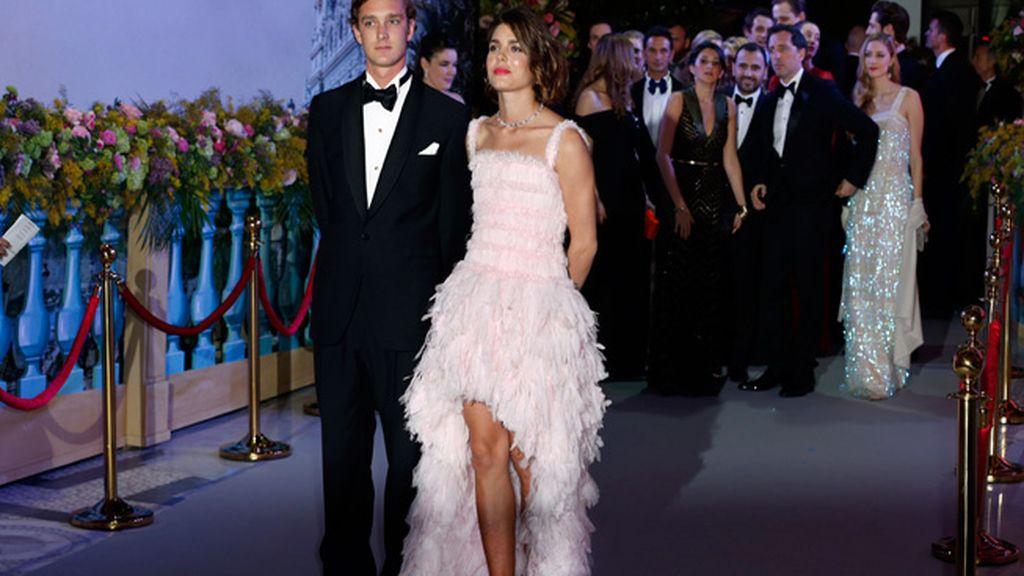 Pierre y Charlotte Casiraghi