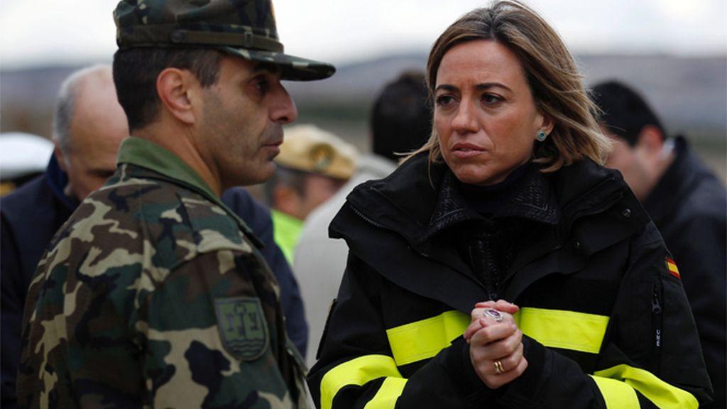 Chacón viaja a Líbano para visitar a las tropas españolas