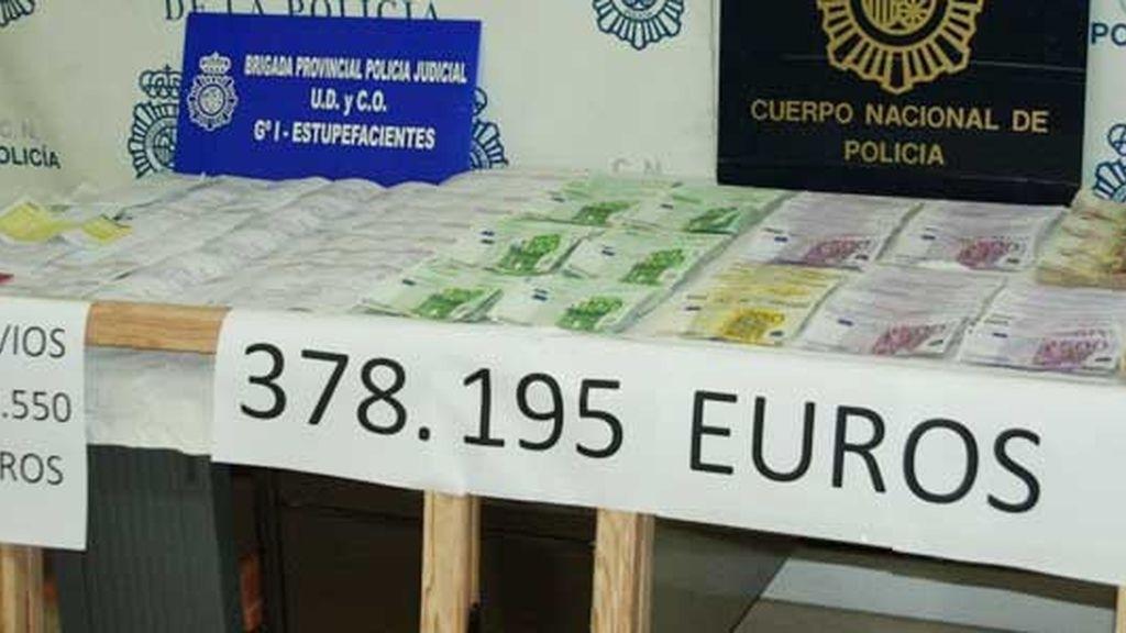 Operación policial contra el blanqueo de dinero