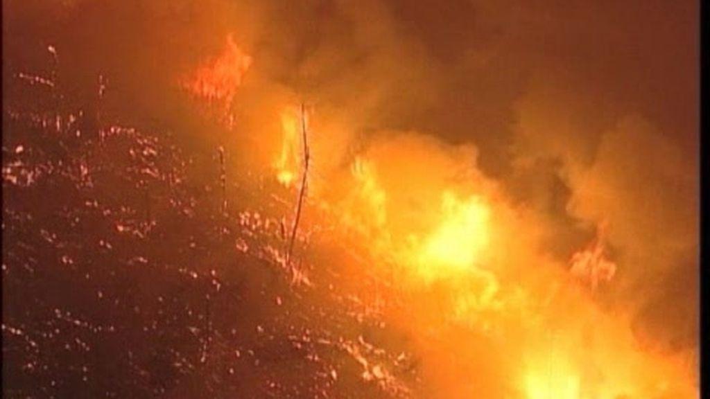 Portugal, devorado por el fuego