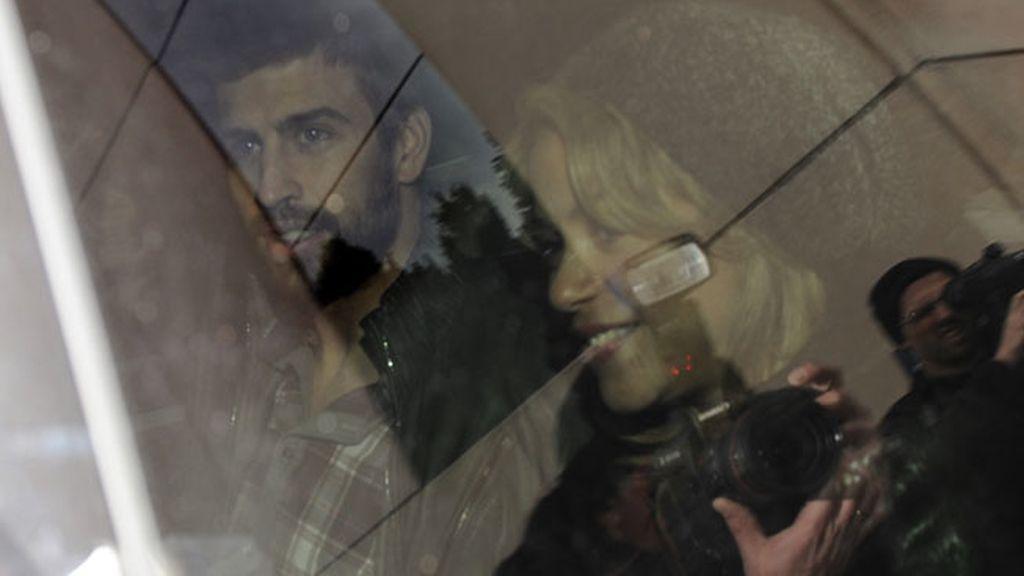 Shakira y Piqué ya están en casa junto a su hijo Milan