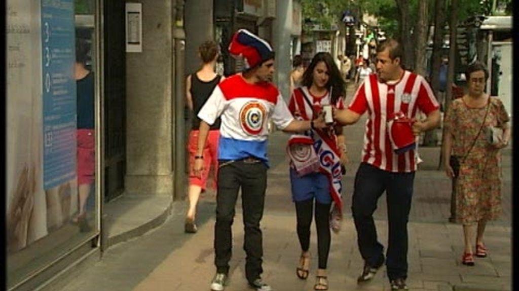 Los paraguayos calientan motores a la española