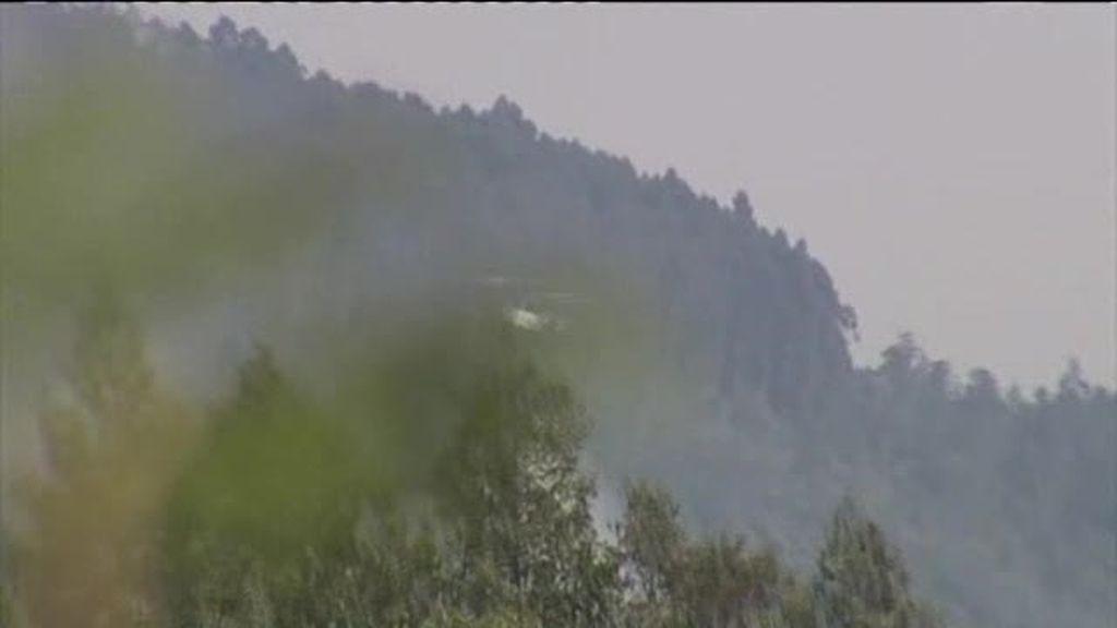Cinco incendios en Galicia