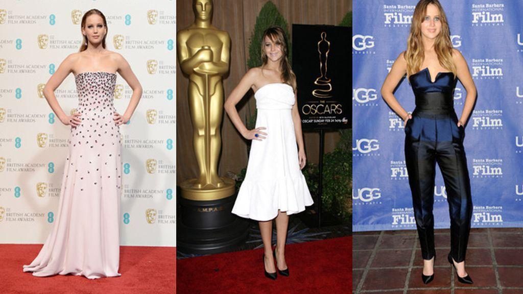Jenniffer Lawrence, nominada a Mejor Actriz por 'El lado bueno de las cosas'