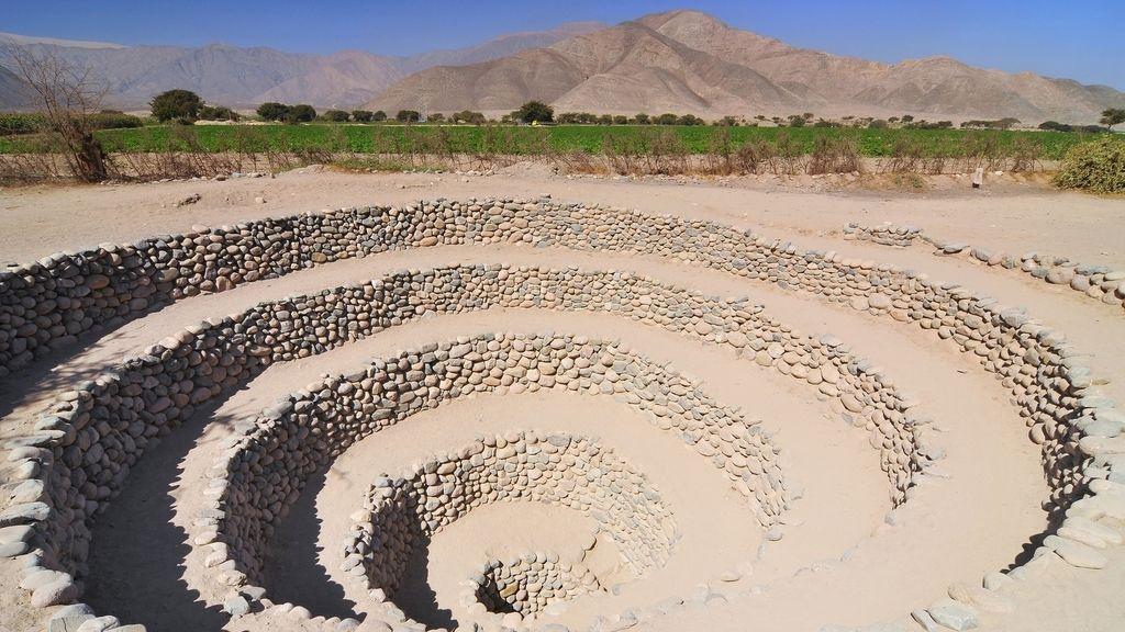 Espirales de Nazca en Perú