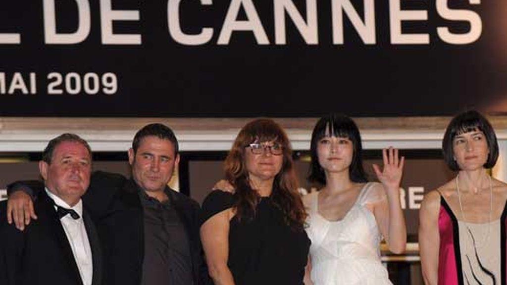 González-Sinde en el estreno de Coixet