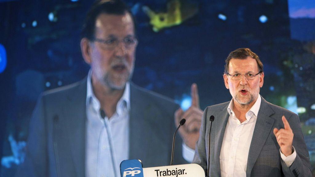 Mitin de Mariano Rajoy en Vigo