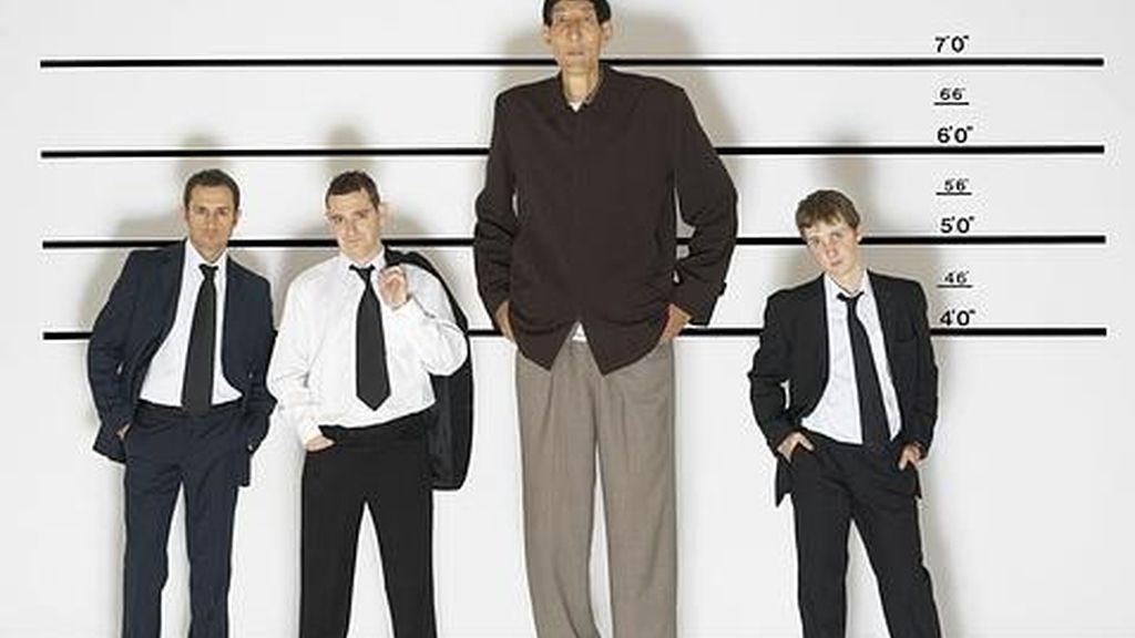 La estatura media de los hombres europeos sube 11 centímetros en el último siglo