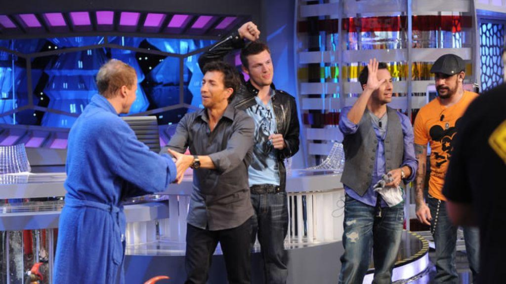 Los Backstreet Boys se despidieron con un gran aplauso
