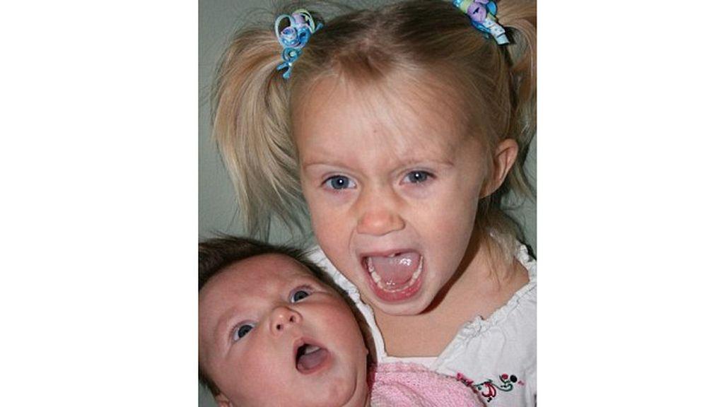 Fotos inspiradas con bebés 'torpes'
