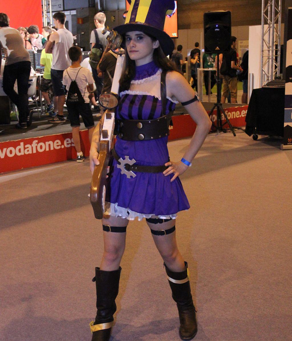 Caitlyn, uno de los personajes de LoL más 'cosplayeados'