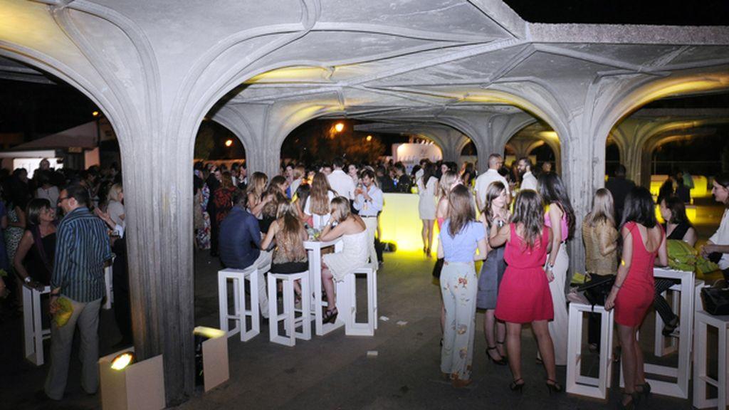 Los jardines del descubrimiento en la Plaza de Colón sirvieron para celebrar el cocktail del 50 cumpleaños de Telva