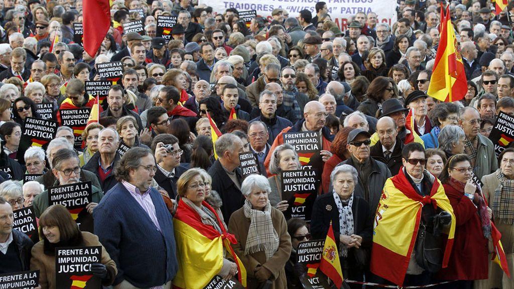 Concentración en Madrid contra las excarcelaciones masivas