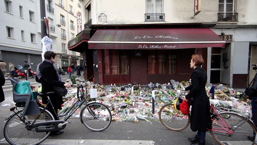 Homenajes en París