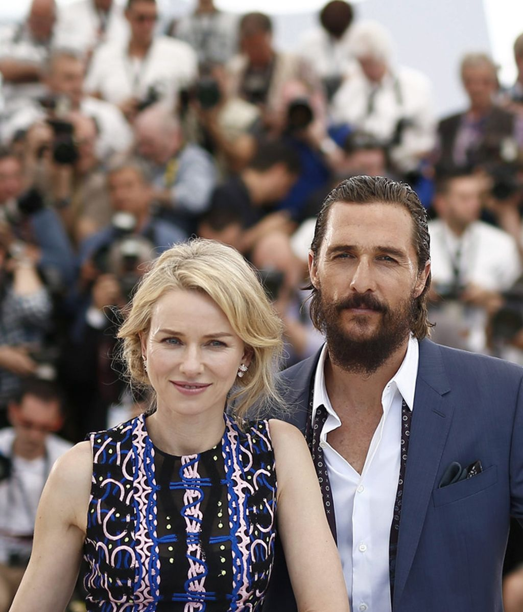 Matthew McConaughey y Naomi Watts, en Cannes