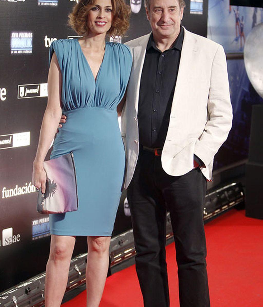 La pareja de actores Juanjo Puigcorbe y Lola Marceli