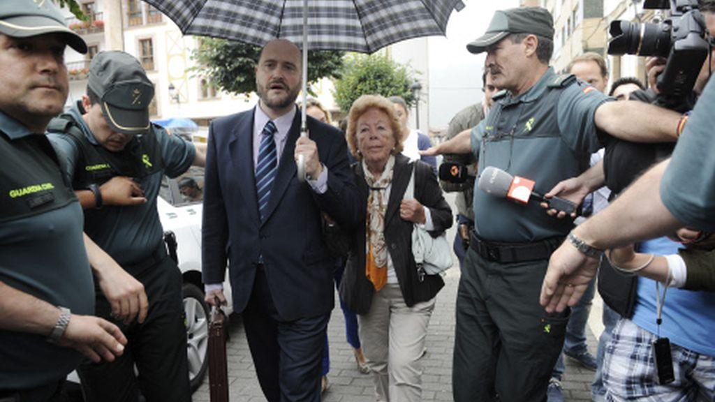 La abuela de la princesa Letizia acude a declarar a un juzgado