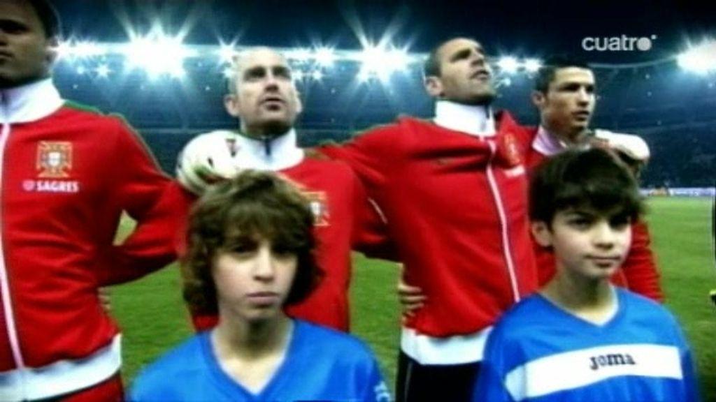 Messi le gana la partida en el amistoso Portugal - Agentina