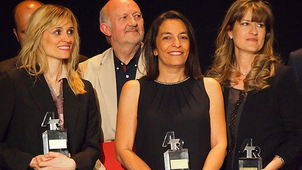 """Ana Bueno le dedicó el premio a su equipo: """"Son los mejores del mundo"""""""