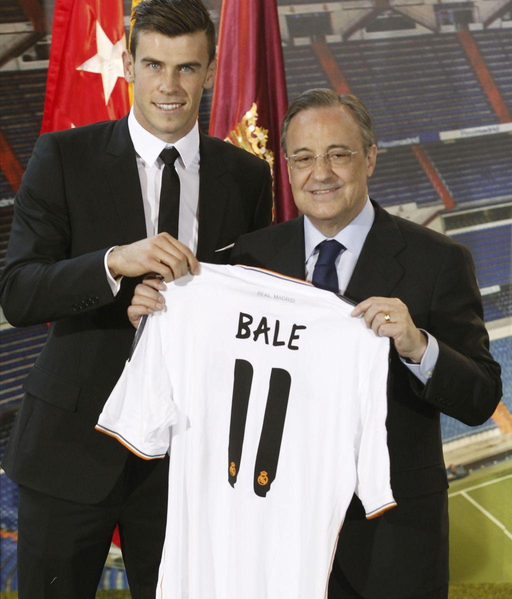 "Florentino Pérez: ""Bale es un jugador excepcional, con grandísimas cualidades"""
