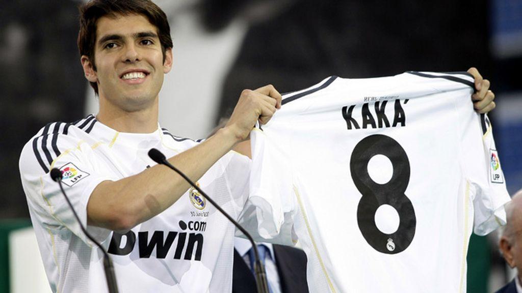 Kaká llevará el '8'