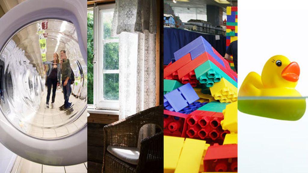 Diez cosas que no sabías que puedes meter en la lavadora