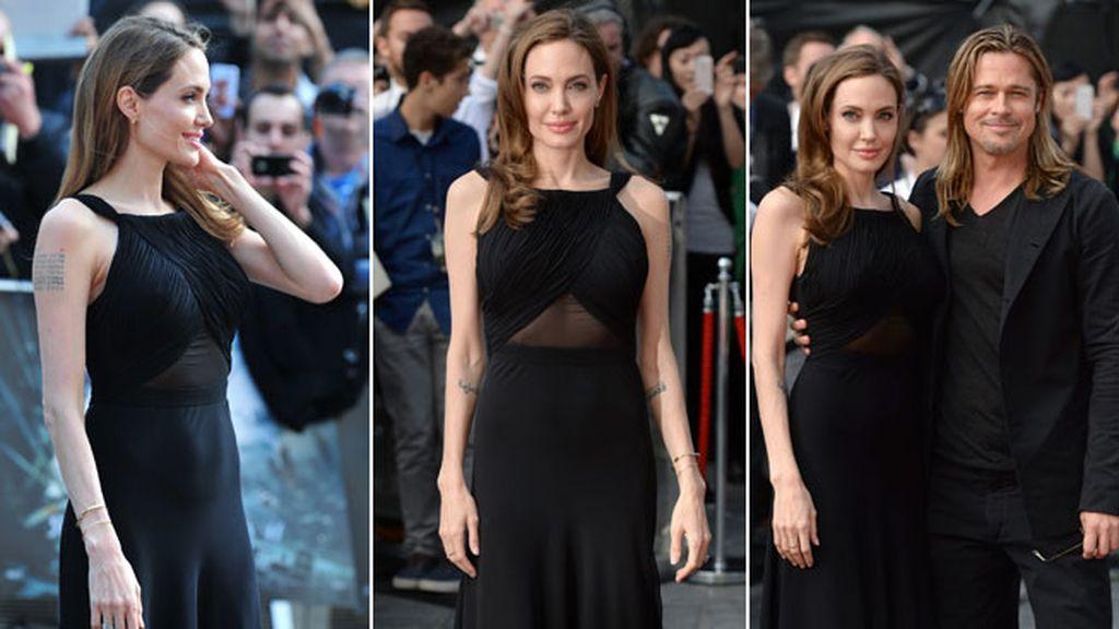 Angelina reaparece