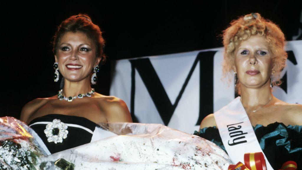 Cayetana participó en concursos de belleza