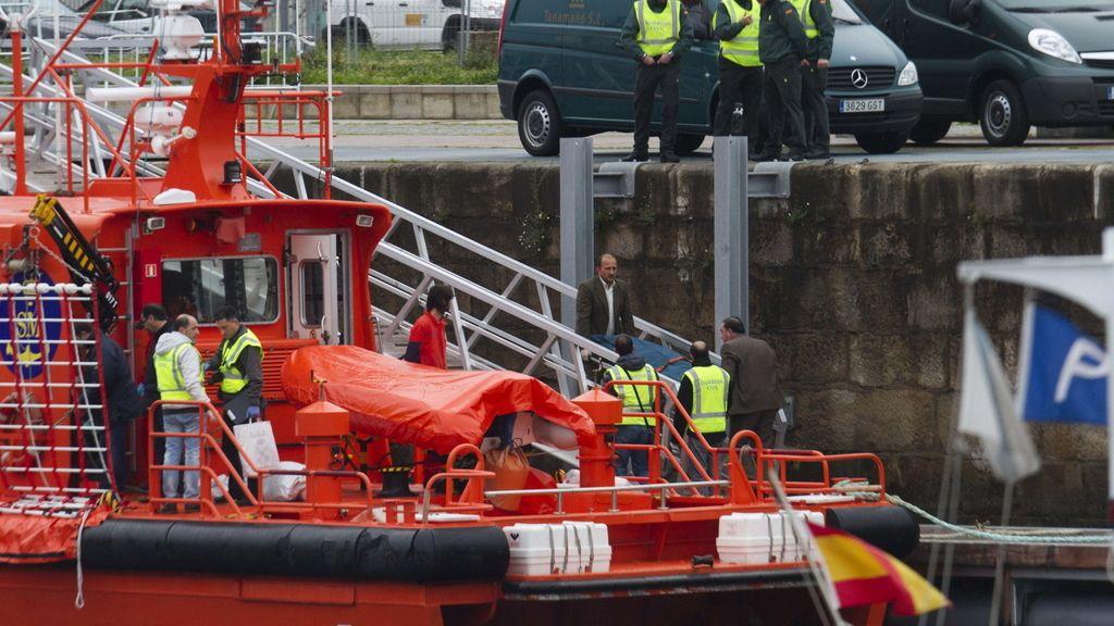Accidente marítimo en la ría de Vigo