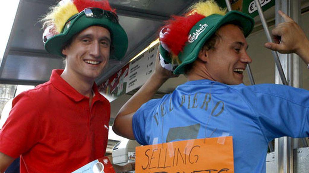 Reventa de entradas para el España-Italia