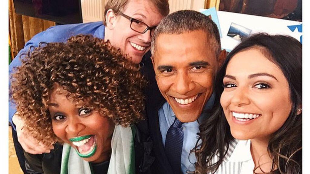 YouTubers' americanos,GloZell Green,Bethany Mota,Hank Green,entrevista Barack Obama