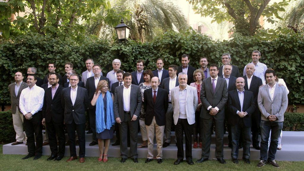 Consejo territorial del PSOE en Granada