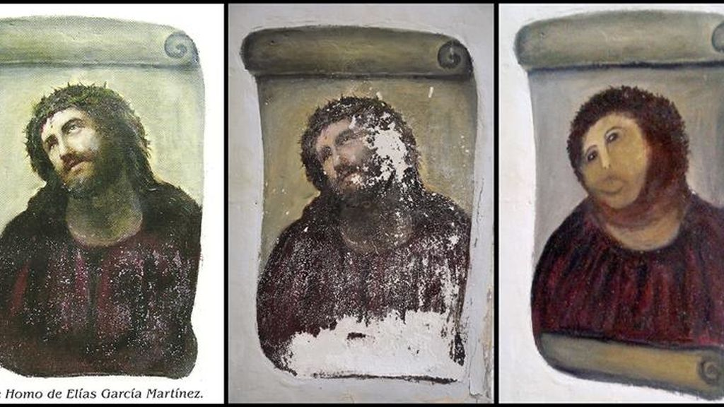 Una obra de arte destrozada por la restauración