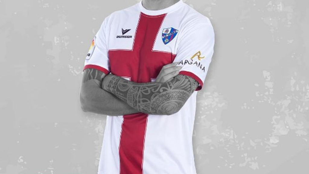 Equipación del Huesca en la temporada 2016/2017