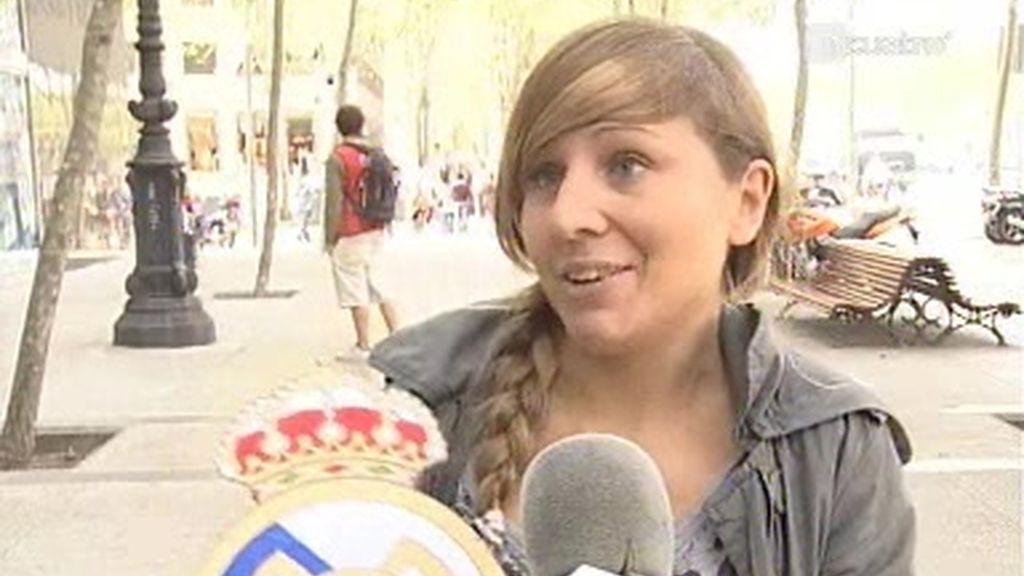 """La afición culé disfrutó con el """"Terremoto de Alcorcón"""""""