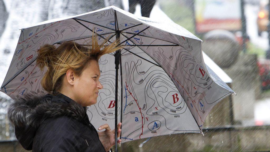 Lluvia y viento en los próximos días