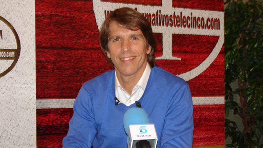 Manuel Díaz 'El Cordobés', en Informativos Telecinco