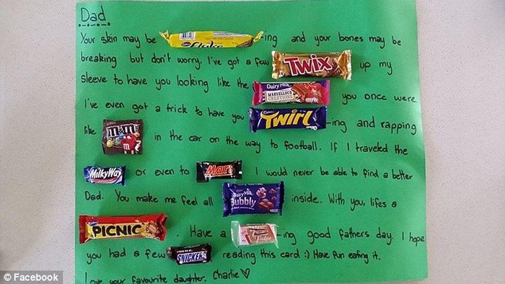 Charlie escribe una carta a su padre
