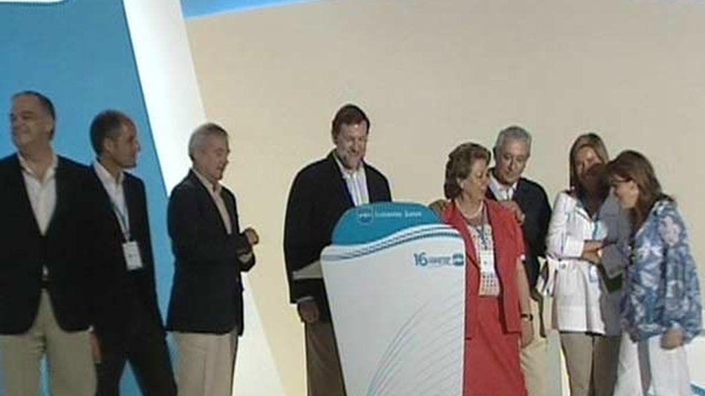 Llegada de Rajoy a Valencia