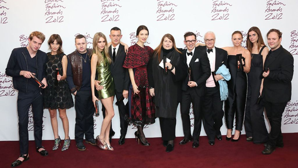 Los premiados en los British Fashion Awards 2012