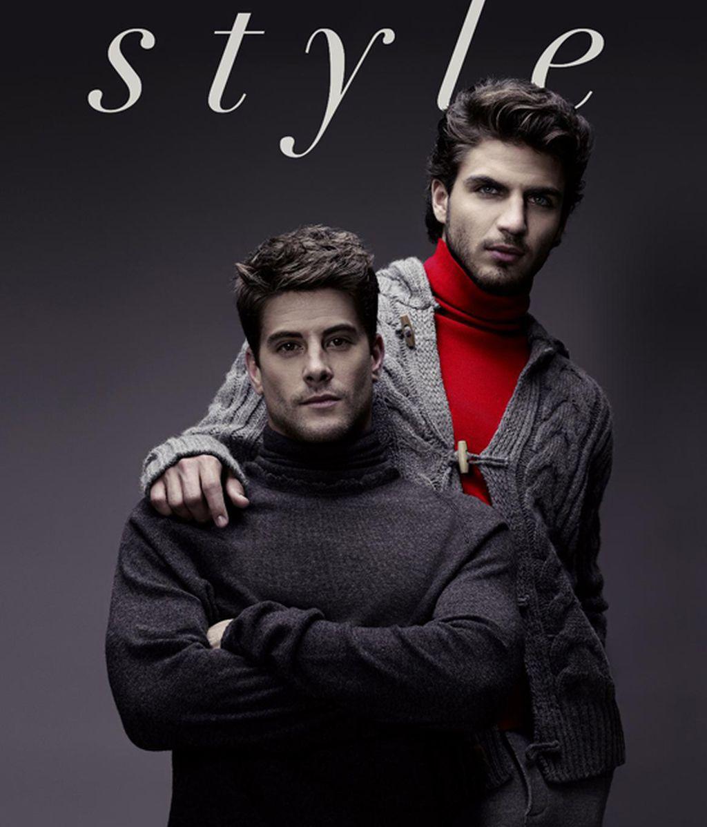 Maxi Iglesias y Luis Fernández, pareja en la prensa gay
