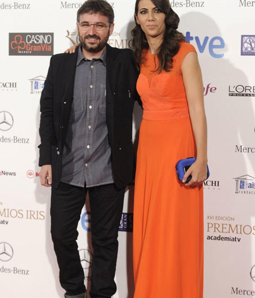 Los periodistas Jordi Évole y Ana Pastor