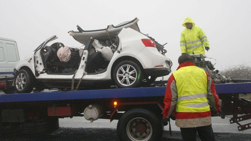 Accidente A Coruña. Foto EFE