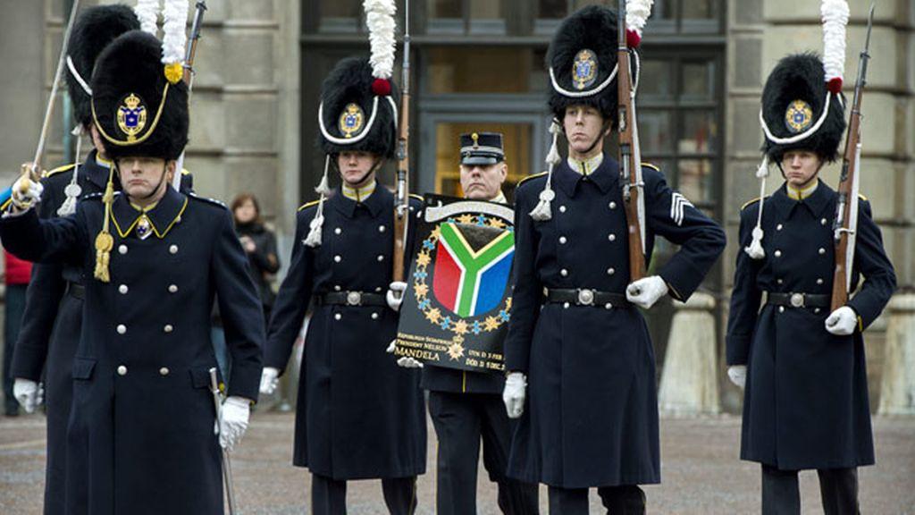 Funeral de despedida de Nelson Mandela