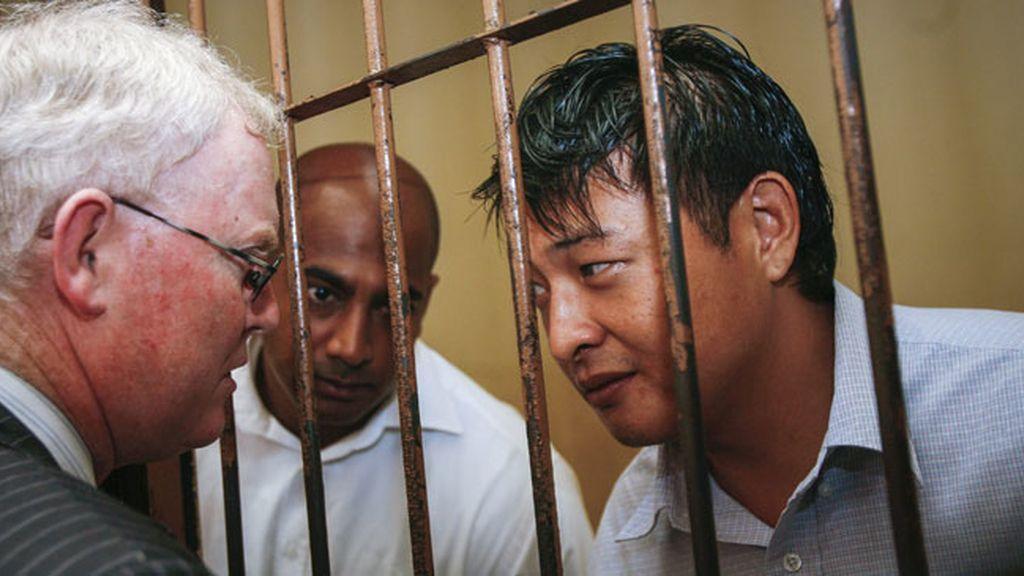 Andrew Chan y Myuran Sukumaran, presos austrlianos que esperan en el corredor de la muerte en Indonesia