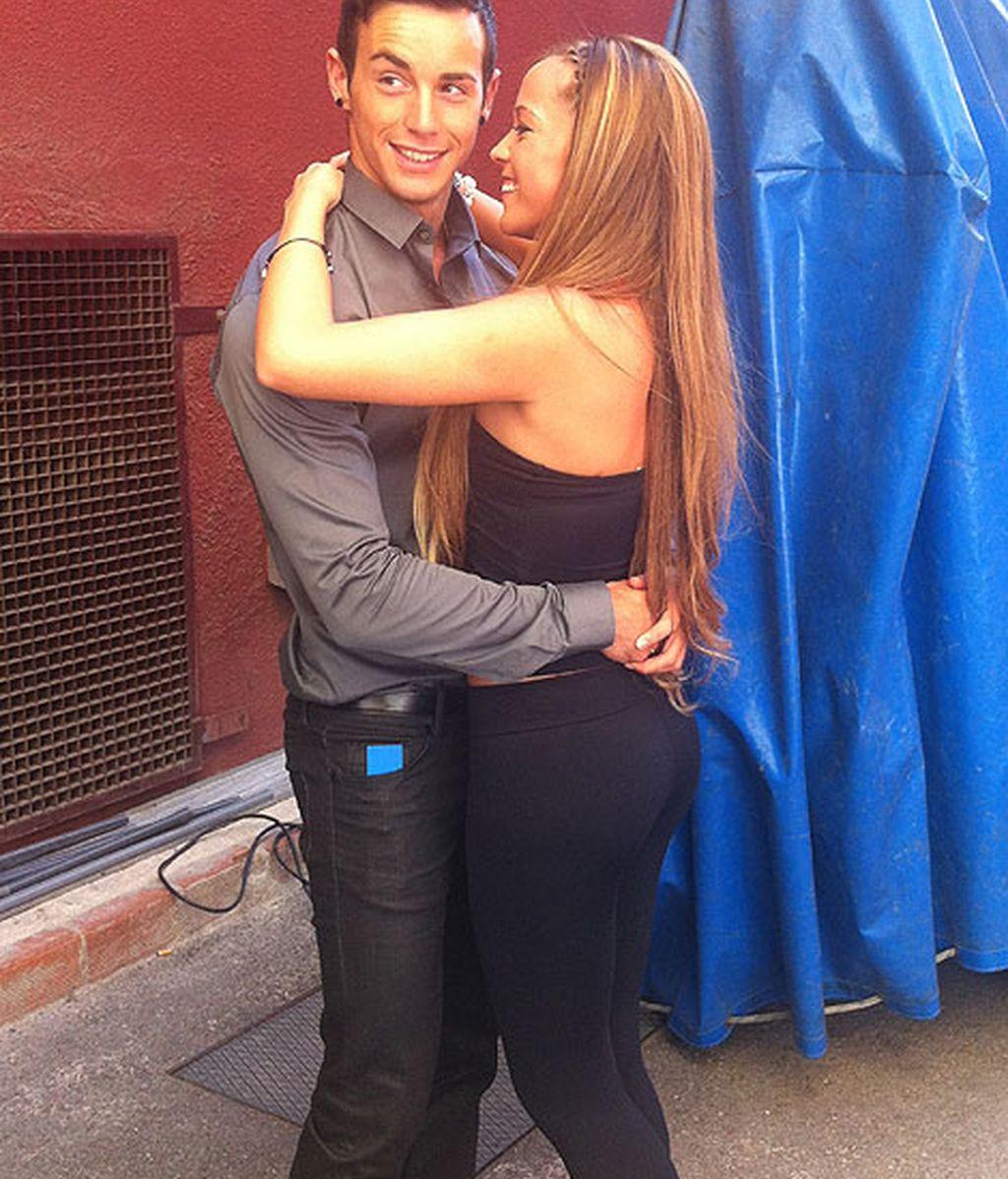 El amor continuó en los pasillos de Telecinco