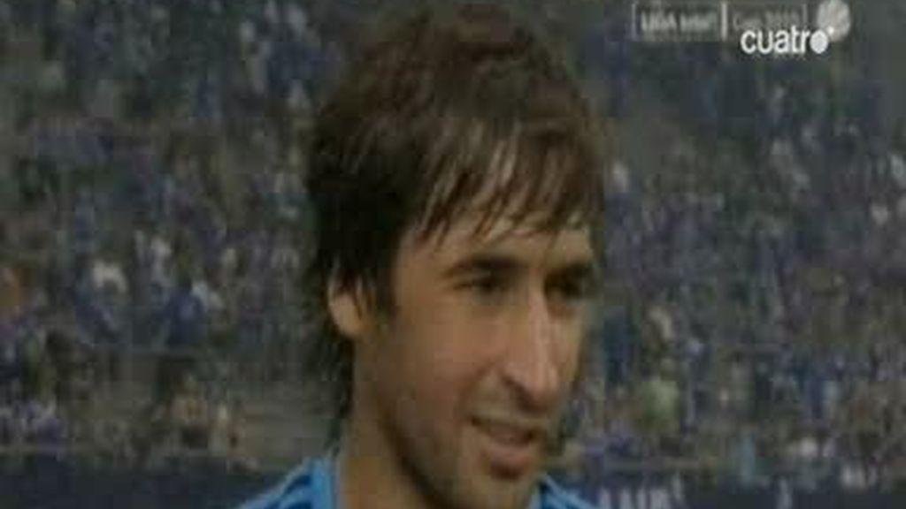 Raúl ya ha puesto patas arriba al Schalke