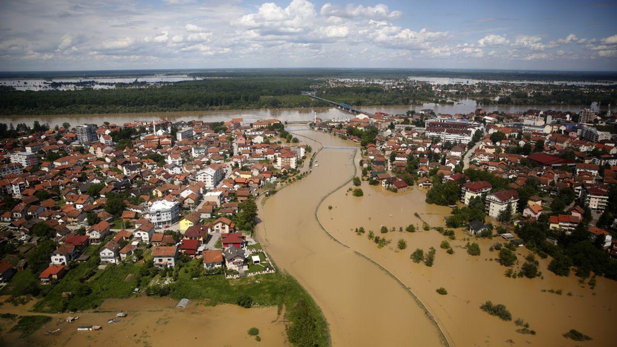 Inundaciones en Serbia