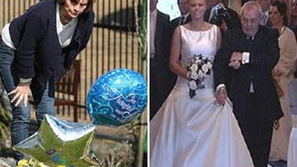 Jade Goody será enterrada con el vestido de novia. Foto: The-Sun
