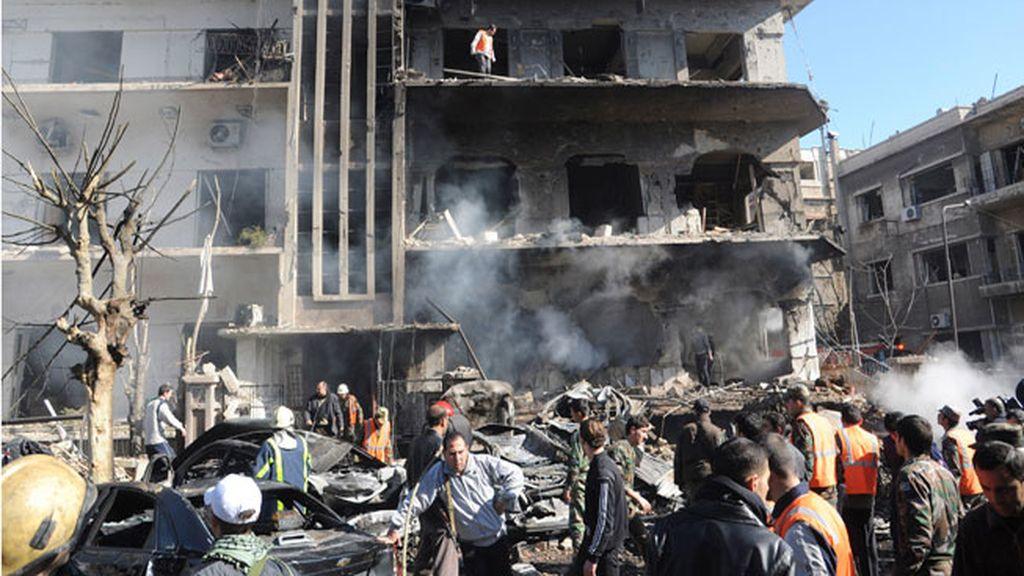 Explosiones en Damasco